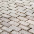 Paved driveway — Stock Photo