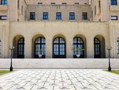 Velká budova s mozaikovou podlahou — Stock fotografie