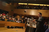 Alexis Tsipras SYRIZA (Coalition of Radical Left) — Stock Photo