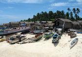 Mabul Local Village — Stock Photo