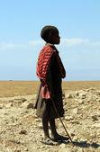 Maasai Boy — Stock Photo