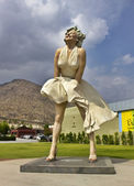 Marilyn Monroe statue — Stock Photo