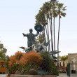 Don Diego statue at Del Mar fairground — Stock Photo