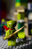 Lego serpente con la spada — Foto Stock