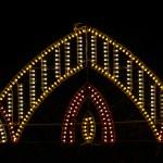 Lights in the night - village popular feria (Fair) — Stock Photo #13491327