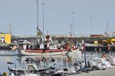 Andalusien-fischereihafen — Stockfoto