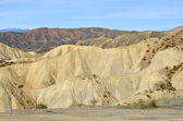 Almeria desert — Stock Photo