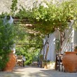 Traditional patio andaluz — Stock Photo