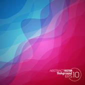 Abstract vector wave background design. — Stok Vektör