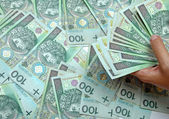 Rolled up banknotes — Stock Photo