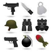 Armee-symbole — Stockvektor