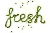 Piselli verdi — Foto Stock