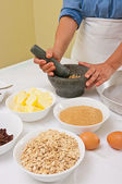 Preparar galletas caseras — Foto de Stock