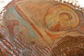 Fresco of John the Baptist at the Red Church, Bulgaria — Stock Photo