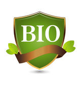 Bio shield — Stock Vector