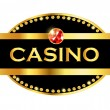 Casino with precious stones — Stock Vector