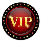 Icona vip — Vettoriale Stock