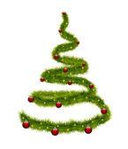 Символической новогодней елки — Cтоковый вектор