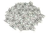 Hög med pengar — Stockfoto