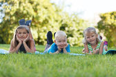 Children outdoors — Stock Photo