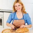 Happy Women is cooking — Stock Photo