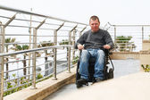 Paraplegic - Wheelchair  — Stock Photo