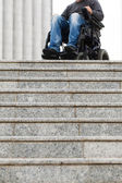 Disabled male — Stockfoto