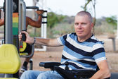 Disabled Male — Stock Photo