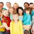 Large Group of Happy People standing together. — Stock Photo #45144267