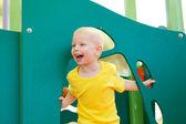 Little Boy play — Stock Photo