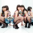 Wombetween two mirrors — ストック写真 #21201155