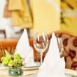 Stock Photo: Detail of nicely arranged table