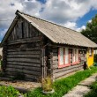 Old Russian wooden house — Stock Photo