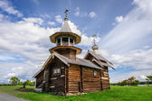 Small wooden church at Kizhi, Russia — Photo