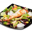 Lobster salad in japanese style — Stock Photo
