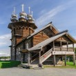 Wooden church at Kizhi, Russia — Stock Photo