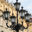 Old streetlight in Lviv, Ukraine — Stock Photo