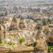 Stock Photo: Mountains near Goreme in Cappadocia