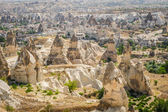 Mountains near Goreme in Cappadocia — Stock Photo