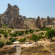 Stock Photo: Rocks near Goreme, , Cappadocia, Turkey