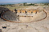 Ancient theater in Hierapolis — Stock Photo