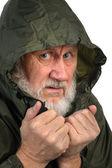Pathetic senior man — Stock Photo