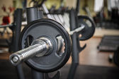 Barbell ready to workout — Stok fotoğraf