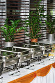 Chafing dish heaters — Foto de Stock
