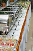 Chafing dish heaters — Foto Stock