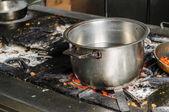 Auténtico restaurante de cocina sucia — Foto de Stock