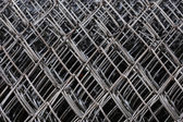Metal netting mesh — Stock Photo