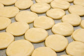 Raw bakery preparation — Stock Photo