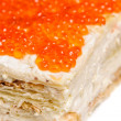 Постер, плакат: Red caviar pie