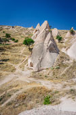 Rocks near Goreme, , Cappadocia, Turkey — Stock Photo